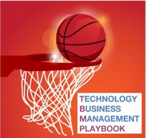 TBM Playbook basketball going into a hoop